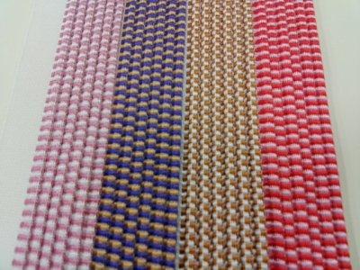 画像1: 花布(2色織り)