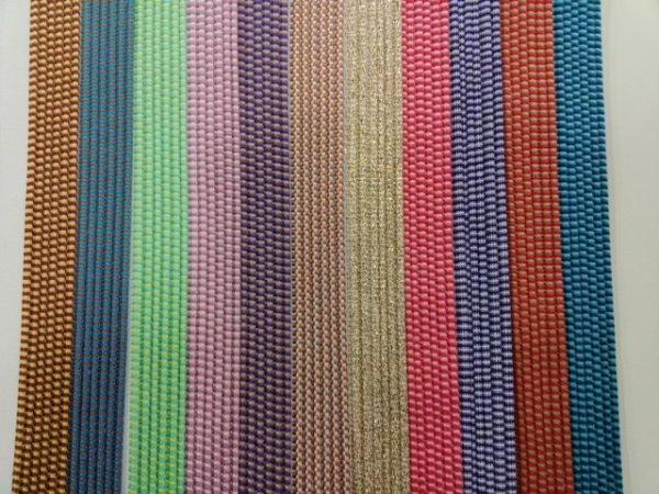 画像1: 花布(2色織り)シート (1)