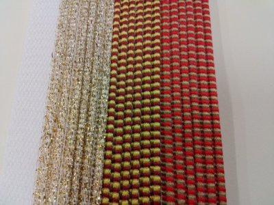 画像2: 花布(2色織り)