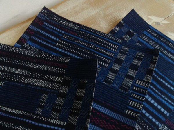 画像1: 製本用クロス ●和風(藍)A4サイズ (1)