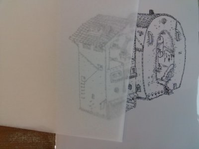 画像2: 図引き用紙王国 5枚セット