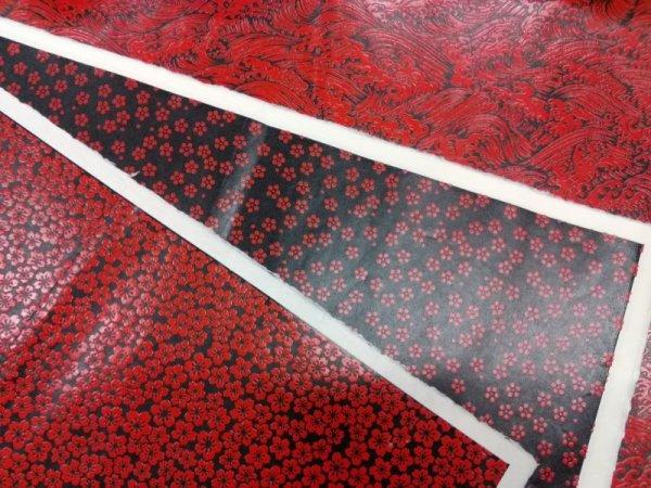 画像1: 鎌倉彫風和紙 (1)