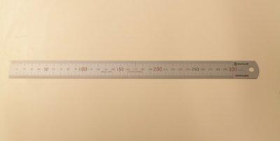 画像1: 300mm 金物定規
