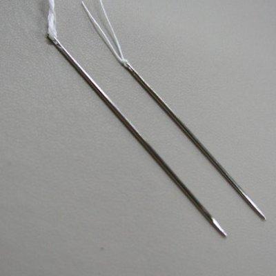 画像1: 手製本用先丸針  スタンダード