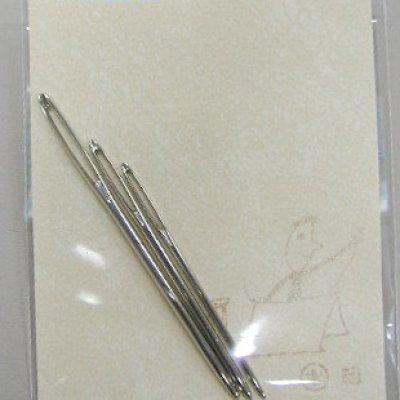 画像1: 手製本用先丸針  太めセット