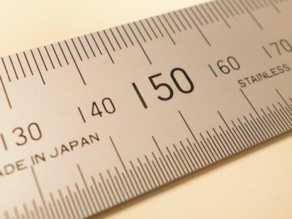 画像1: 300mm 金物定規 (1)