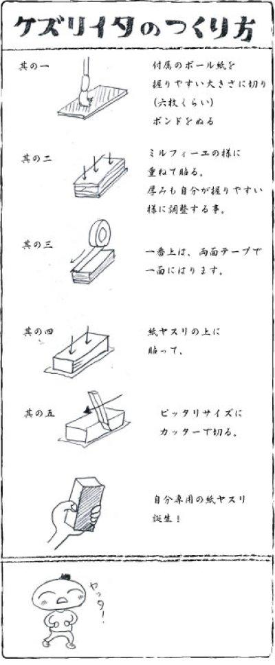 画像1: ヘラけずり板セット